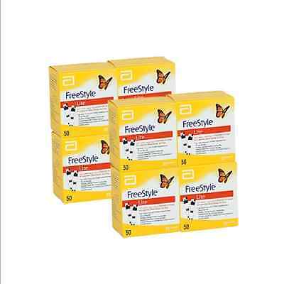 FREESTYLE LITE Blood Glucose Test Strips X 4 Boxes (50 each)
