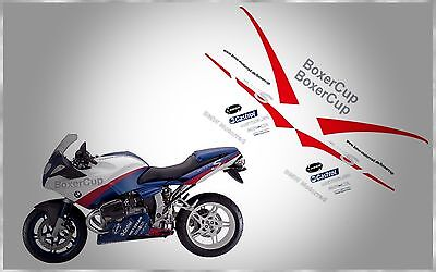 Bmw Motorrad R1100S Boxer Cup 1999-2005 Complete Fairing Graphic Decals