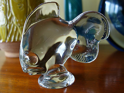 "VINTAGE MID CENTURY 50s ! FRENCH ""VANNES"" ART GLASS GOLDFISH"