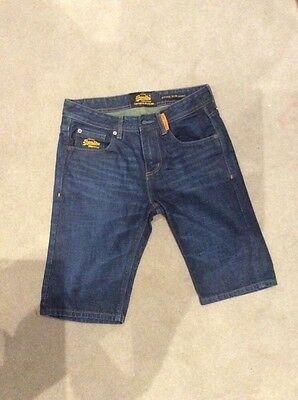"1pair Superdry denim shorts 30"" waist"