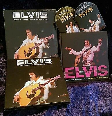 ELVIS PRESLEY THE FINAL PERFORMANCE : DELUXE EDITION (2 CD + Book) RARE