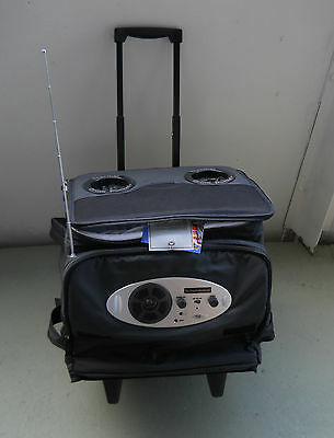 COOLER COLLAPSIBLE ON WHEELS California Innovation  Rock'N'Roller, holds 60 Cans