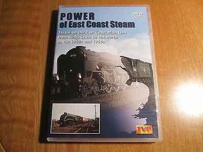 Dvd: Power Of East Coast Steam.