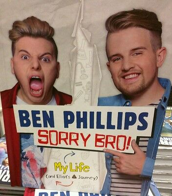 Sorry Bro! By Ben Phillips & Elliot Giles Signed 1/1st Edition Hardback