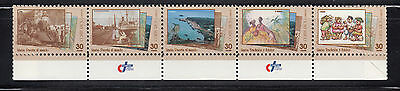 Costa Rica 1996 Port Limon post cards  Sc489  complete mint never hinged