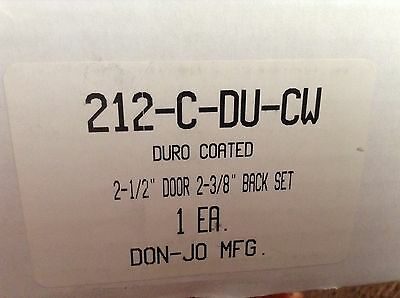 Don-Jo 212-C-DU-CW Stainless Steel Wrap-around Plate, Oil Rubbed Brz