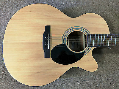 Jasmine S-34C Cutaway Acoustic Guitar, Grand Orchestra Size, Natural, Starter!