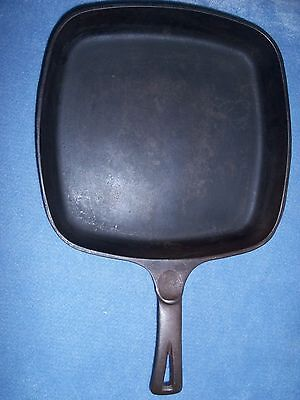 Wagner Ware Cast Iron Square Skillet 1218B