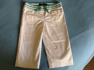Mini Boden Shorts Trousers White Cotton - Size Age 9 Years