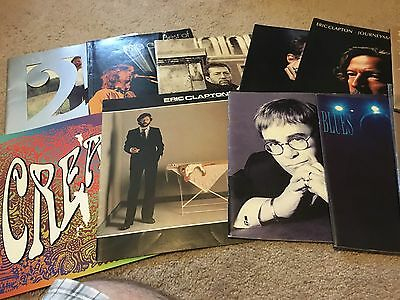 ERIC CLAPTON Huge Rare 21 Piece Collection Mostly Programs Please Read