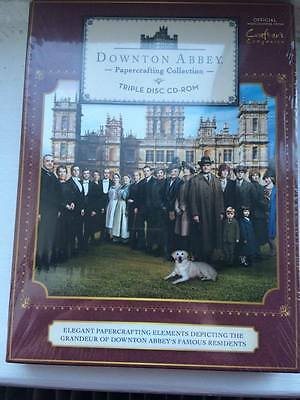 Downton Abbey Papercrafting Triple CD-ROM Unopened