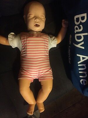American Red Cross Baby Anne CPR Doll COMPLETE + TONS of EXTRAS