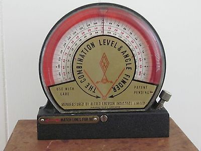 Vintage Tools Combination Level & Angle Finder