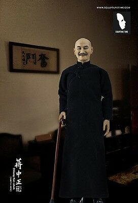 SCUPTUME TIME Chiang Kai-shek double-head 1/6 scale China old President figure
