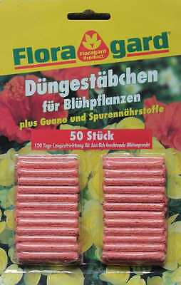 Fertilizer sticks for flowering plants 50 pieces (with guano and trace elements)