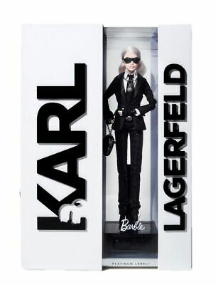 "MIB The 2014 ""Karl Lagerfeld Platinum Label"" Barbie Collector Doll 106 of 999"