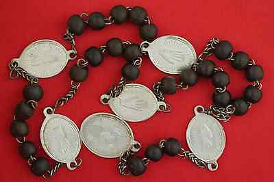 Rare Antique 5 FIVE WOUNDS OF JESUS CHRIST Chaplet Rosary PASSION CRUCIFIXION