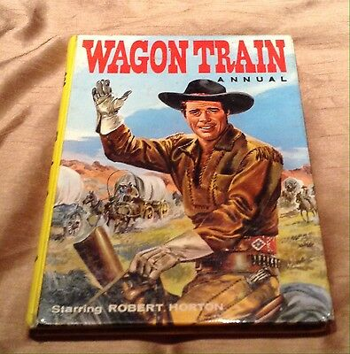 Vintage Wagon Train Annual Published 1960