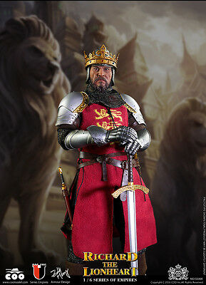 COOMODEL SE004 Imperial series Richard I the Lionheart 1/6 scale knight armor