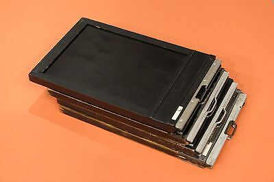 5 x 7 wooden ( 4 ) film holders