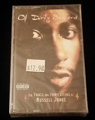 Ol' Dirty Bastard Trials And Tribulations Of Russell Jones Cassette Tape Sealed