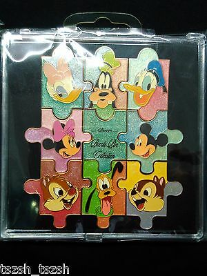 JDS Disney Mickey & Fds Puzzle Pin Collection 9 Pins set(Chip Dale Donald pluto)
