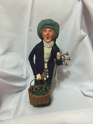 New Unused 1998 Byers Choice Caroler Candle Stick Holder Candelabra with Tag