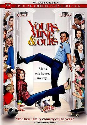 USED DVD // YOURS , MINE & OURS - Dennis Quaid, Rene Russo, Rip Torn, Linda Hunt