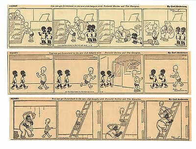 HENRY (1935) - 287 Daily Comics - by CARL ANDERSON