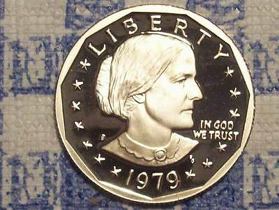 1979-S Type 2 Susan B Anthony Dollar-Off Quality