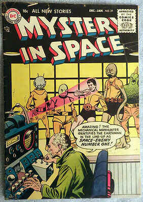 Mystery in Space #29 - Space-Enemy Number One!