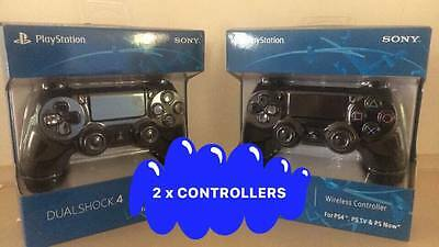 2 x brand new play station 4 ps4 controller