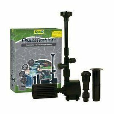 New Tetra Pond Fk3 Fountain Kit 325 Gph Pump & Filter Tetra 26594
