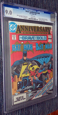 Brave and the Bold #200 CGC 9.0 White Pages 1st Outsiders Katana Halo Geo-Force!