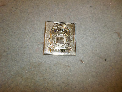 Burns Guard International Security Services Badge