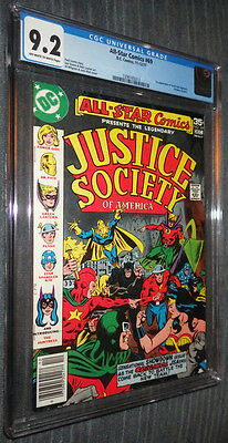 All-Star Comics #69 CGC 9.2 OW/W Pages - First Huntress! Justice Society!
