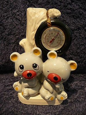Vintage Thermometer - Bears