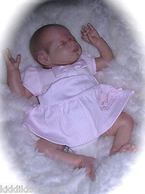 Bnwts ~Stunning Baby Girls Designer Bunny Dress ~ Size Baby 5-8 Lbs Or Reborn