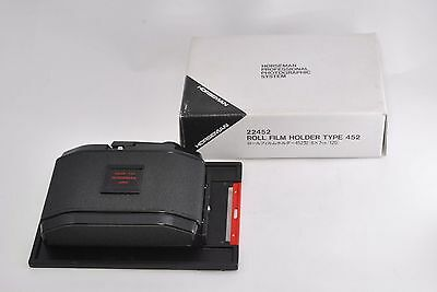Exc++*  Horseman 120 Roll Film Holder 10EXP, 67 6x7 for 4x5 w/Box from Japan