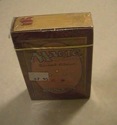 WOTC MTG Magic 3rd Revised Edition Factory Sealed Starter Deck - Nice!