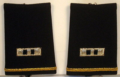 US Army CWO-2 Epaulet Soft Shoulder Boards Small Size for Dress Blues