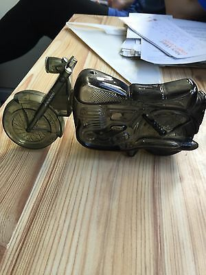 avon aftershave bottle Shaped As A Motorcycle