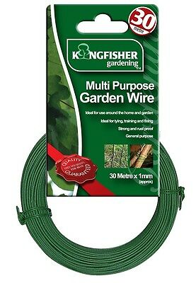 GARDEN WIRE, MULTI PURPOSE, 1MM BPSCA GSW102 - SI16656 By KINGFISHER