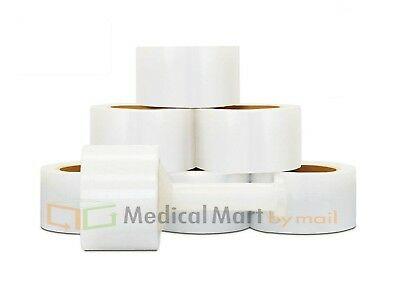 "Cast Narrow Banding Wrap 2"" x 700' x 120 Gauge Clear Film 24 Rolls/Case"