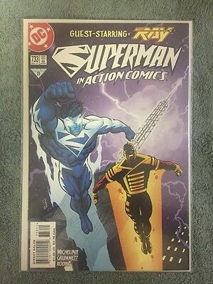 Superman In Action Comics #733 May 1997 Guest Starring The Ray