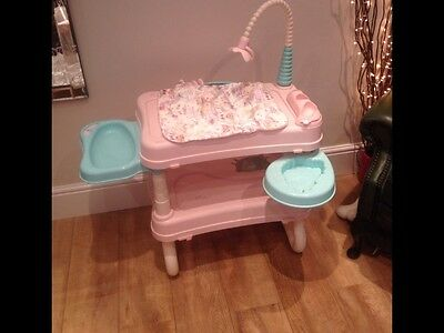 Baby Annabell Dolls Changing Unit / Table With Light And Music