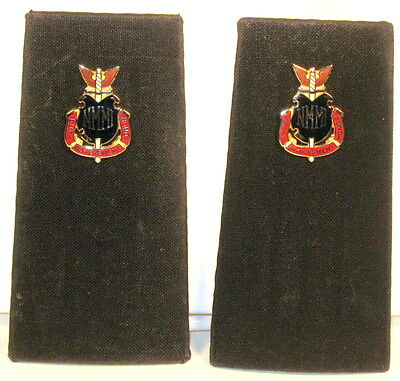 New Mexico Military Institue NMMI Large New Cadets Shoulder Boards Pair