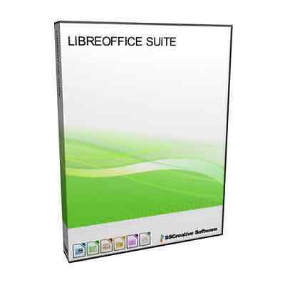 Libre Office Suite 2016 MS Microsoft Word DOC PowerPoint PPT Compatible Software