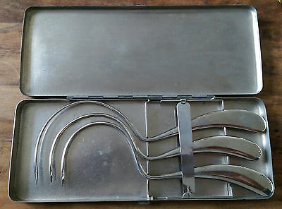 Vintage surgical sewing needles