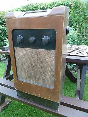 Shed discovered Bush SUG91 small console radio for spares, repair or restoration